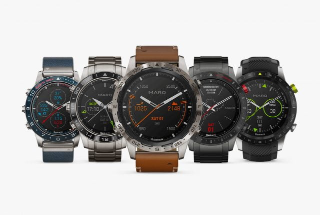 feed89889fa43f I nuovi Smartwatch di lusso Marq di Garmin sono per attività specifiche