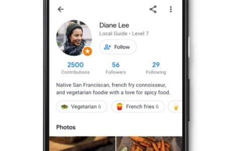 Google Maps diventa social dando a ciascun utente il proprio profilo