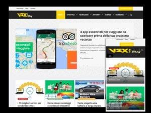 Progetto VSX blog